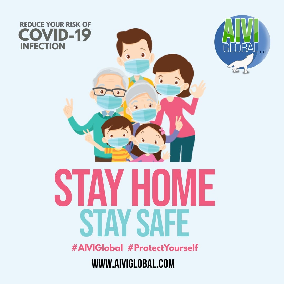 Stay Home Stay Safe Covid-19