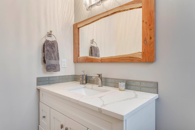 Blue Quill Bathroom