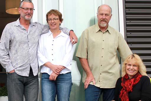 Our Team at the Leigh Central Motel Ian, Heather, Alan and Jasmine