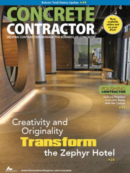 Concrete Contractor Magazine