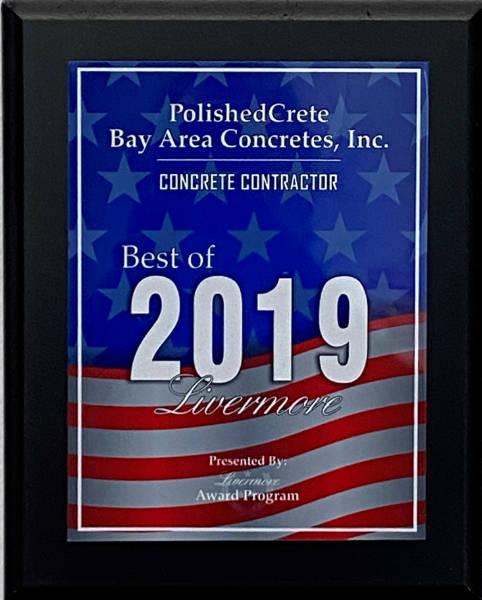 Best of Livermore 2019 Concrete Contractor