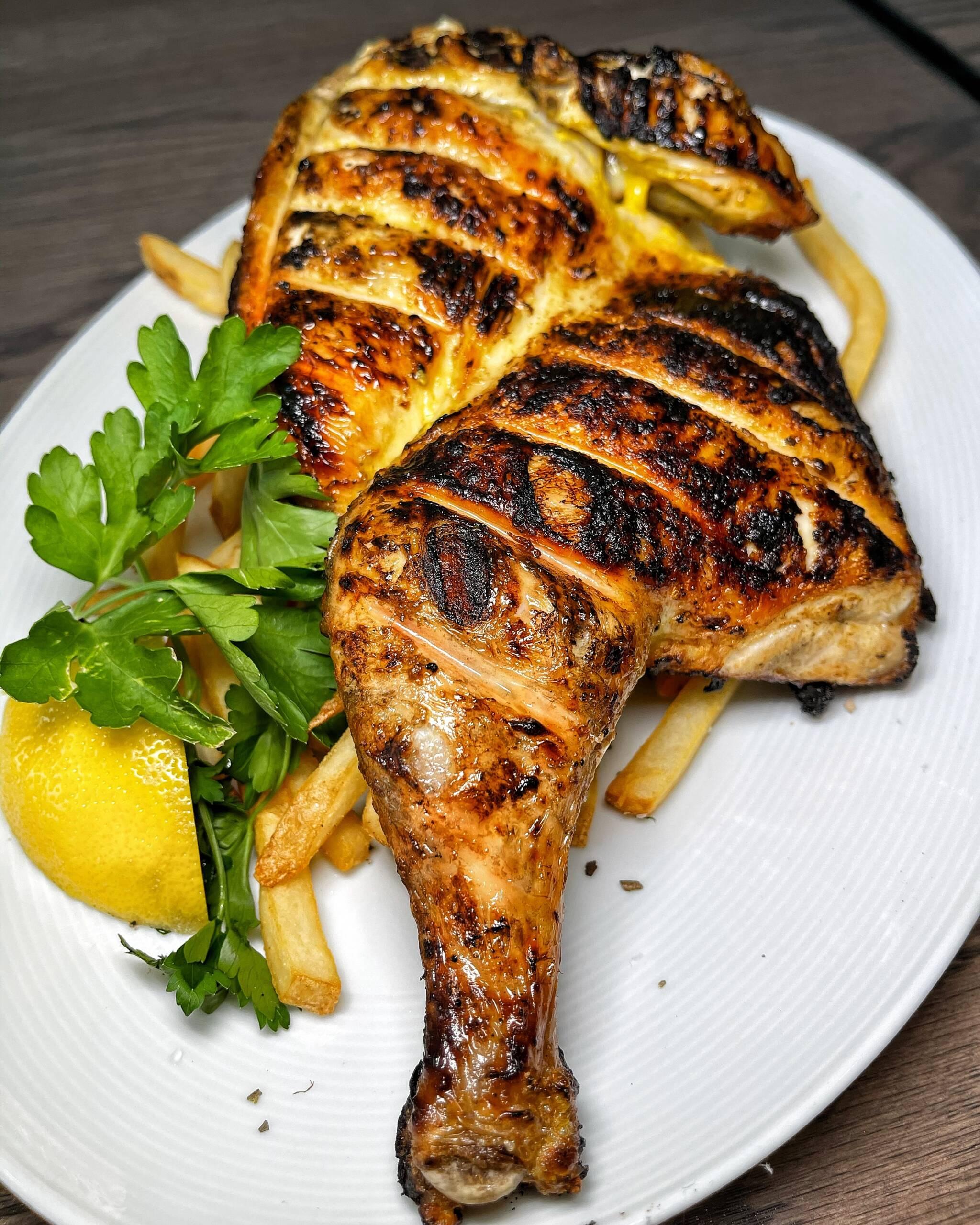 Organic Brick Chicken