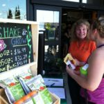 We love to talk to people about learn what they are growing and share with them how Shake and Grow works and lear