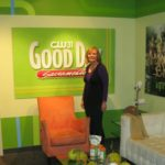 Good Day Sacramento the green room is really green!