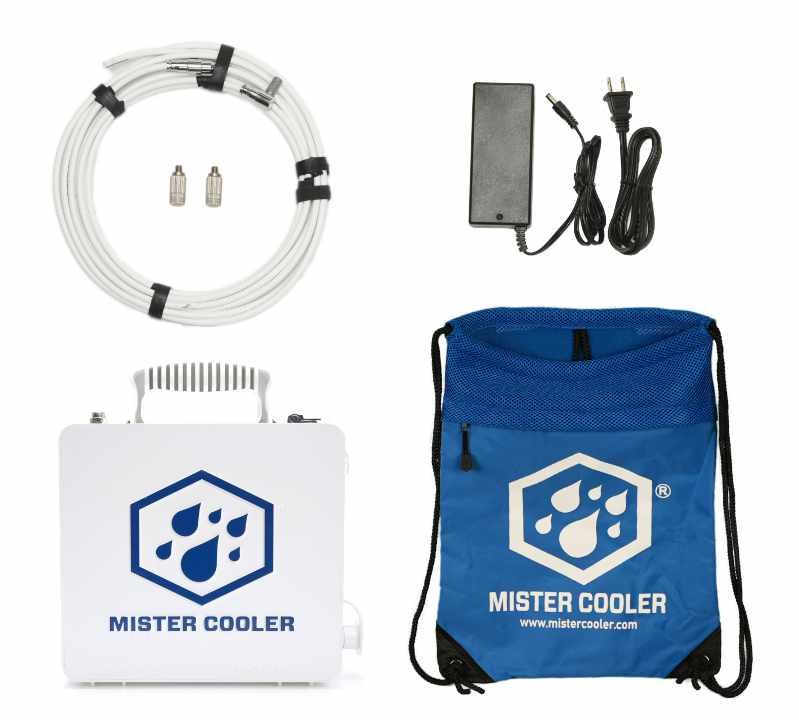 Mister Cooler Portable Misting System