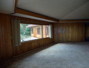 Grand Marais Home before electric radiant floor heating