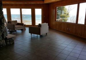 Grand Marais Home after electric radiant floor heating