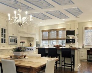 Radiant ceiling allows your design to shine Radiant Ceiling vs Baseboard Heating