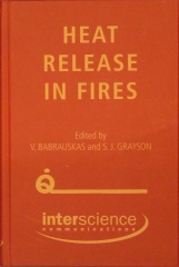 Orange cover of Heat Release in Fires
