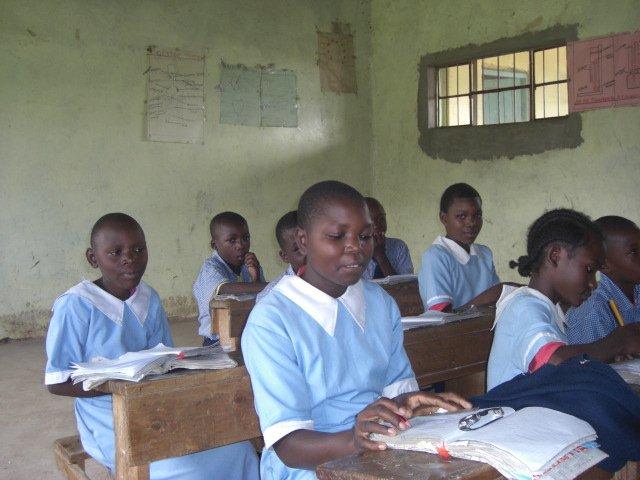 Jirani students in school