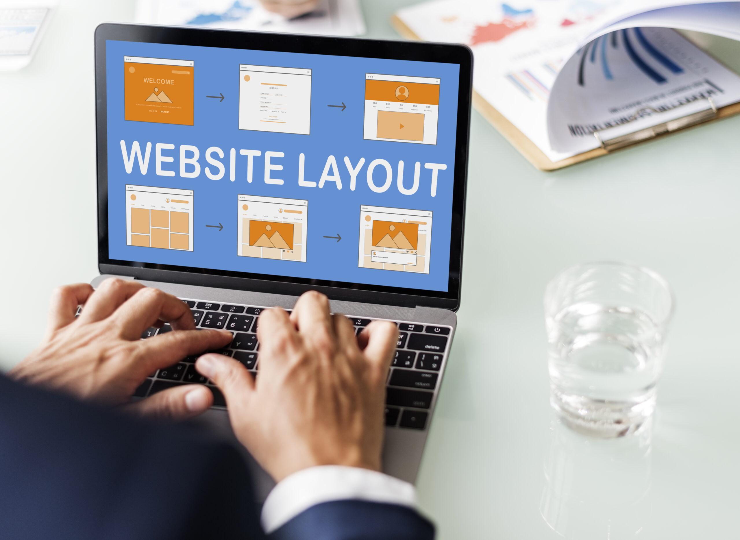 web template website design concept PZMWPL6 scaled