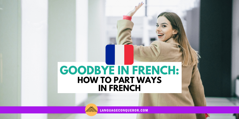 Snack-Sized Language Episode 9: How to Say Goodbye in French