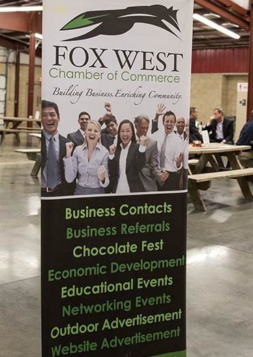 Fox West Chamber of Commerce banner
