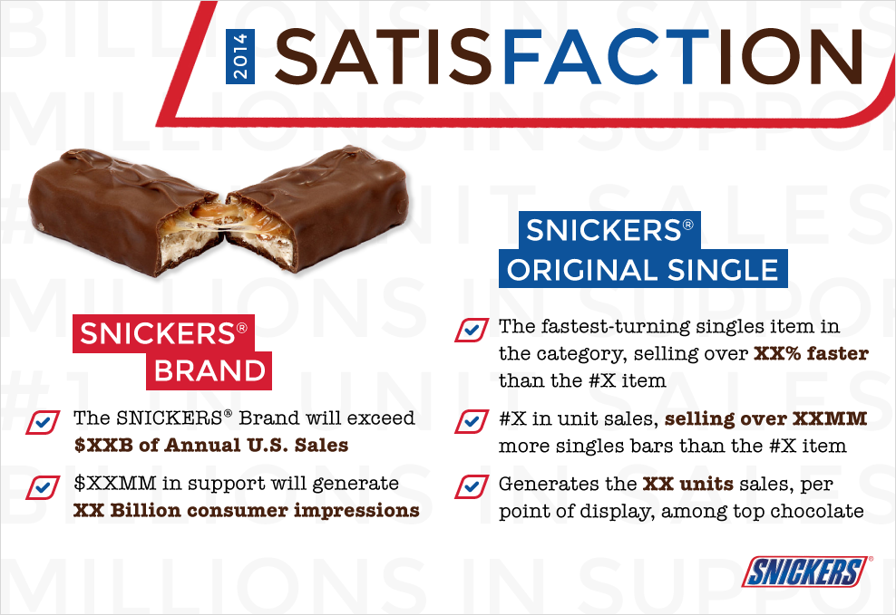 Snickers design
