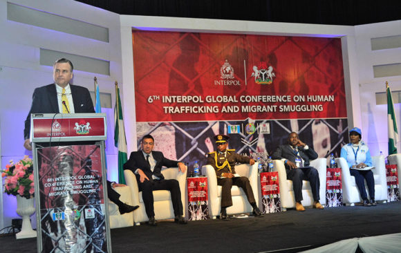 6th Interpol Global Conference On Human Trafficking And Migrant Smuggling In Abuja, Nigeria.