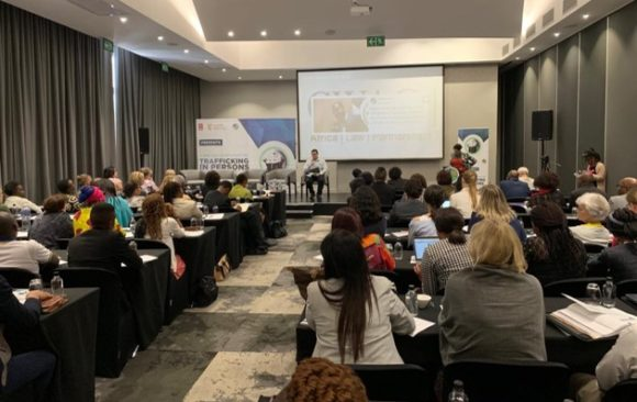 Symposium on Trafficking in Persons, Johannesburg, South Africa.