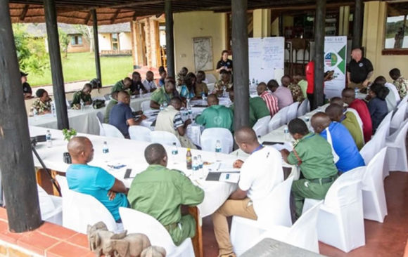 Anti-Wildlife Trafficking Training Workshop, Kasungu, Malawi.