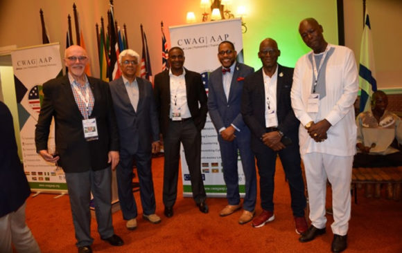 AGA-Africa At The 21st Commonwealth Law Conference, Livingstone, Zambia.
