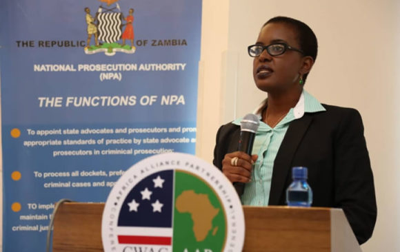 AGA-Africa in collaboration with the National Prosecution Authority (NPA) Cybercrime Workshop Lusaka, Zambia.