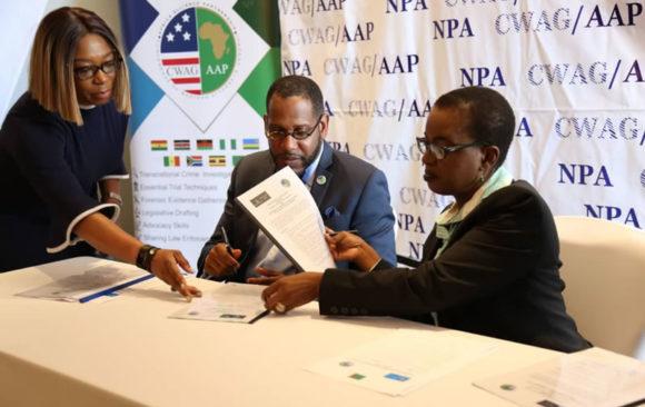 MOU With The National Prosecution Authority (NPA), Lusaka, Zambia.
