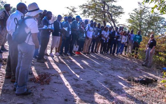 Anti-Wildlife Trafficking Workshop,Livingstone, Zambia