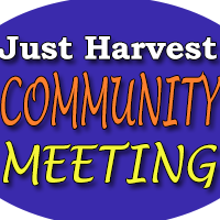 Just Harvest community meeting