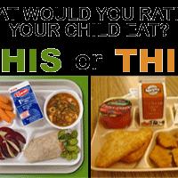 school meals choice