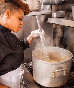 Community Kitchen Pittsburgh trainee