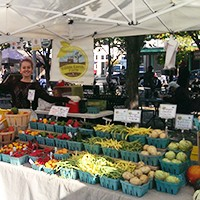 Edible Earth Farms at Pittsburgh's Market Square farmers market