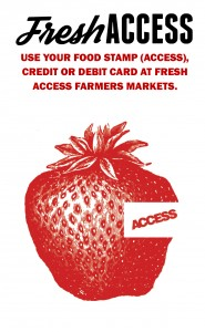 Fresh Access brochure - using your food stamps/EBT, credit or debit card at fresh access farmers markets