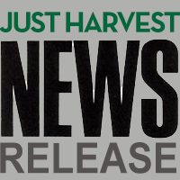 Just Harvest news release