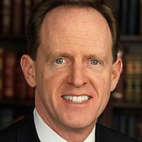 Official portrait of United States Senator Pat Toomey