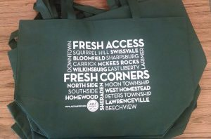 Just Harvest's Fresh Access Fresh Corners tote bag_mini