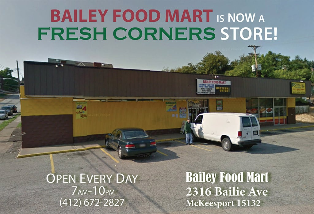 Bailey Food Mart is now a Fresh Corners store