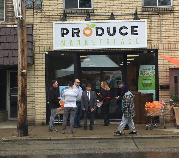 The Produce Marketplace storefront