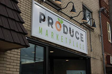 Produce Marketplace storefront   Frank Sottile (TrailBlaze Creative)
