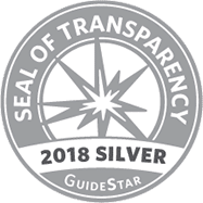 2018 GuideStar Silver Seal of Transparency