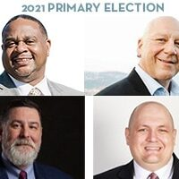 2021 Primary Election: Ed Gainey, Tony Moreno, Bill Peduto, and Mike Thompson