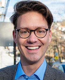 Pittsburgh City Council candidate Jacob Williamson