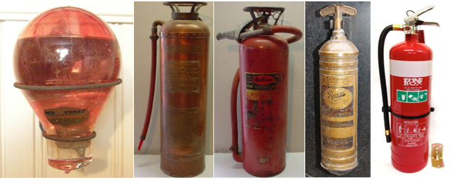 The History of fire extinguishers