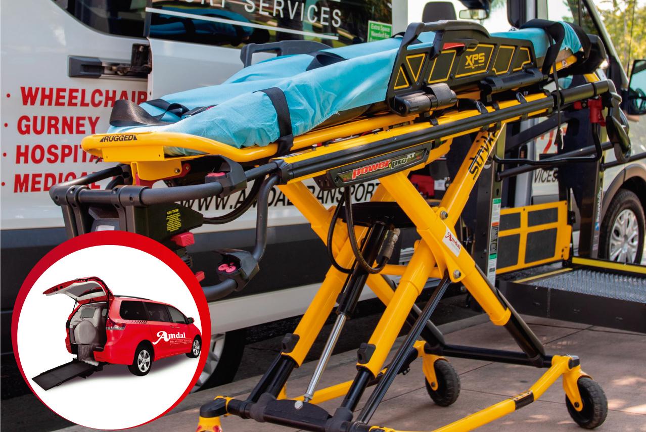 amdal transportation medical vehicles