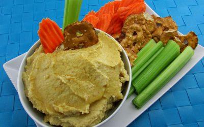 Honey Mustard Hummus