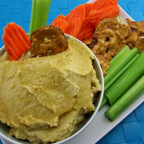 Honey Mustard Hummus Recipe
