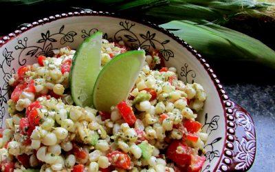 Grilled Street Corn Salad