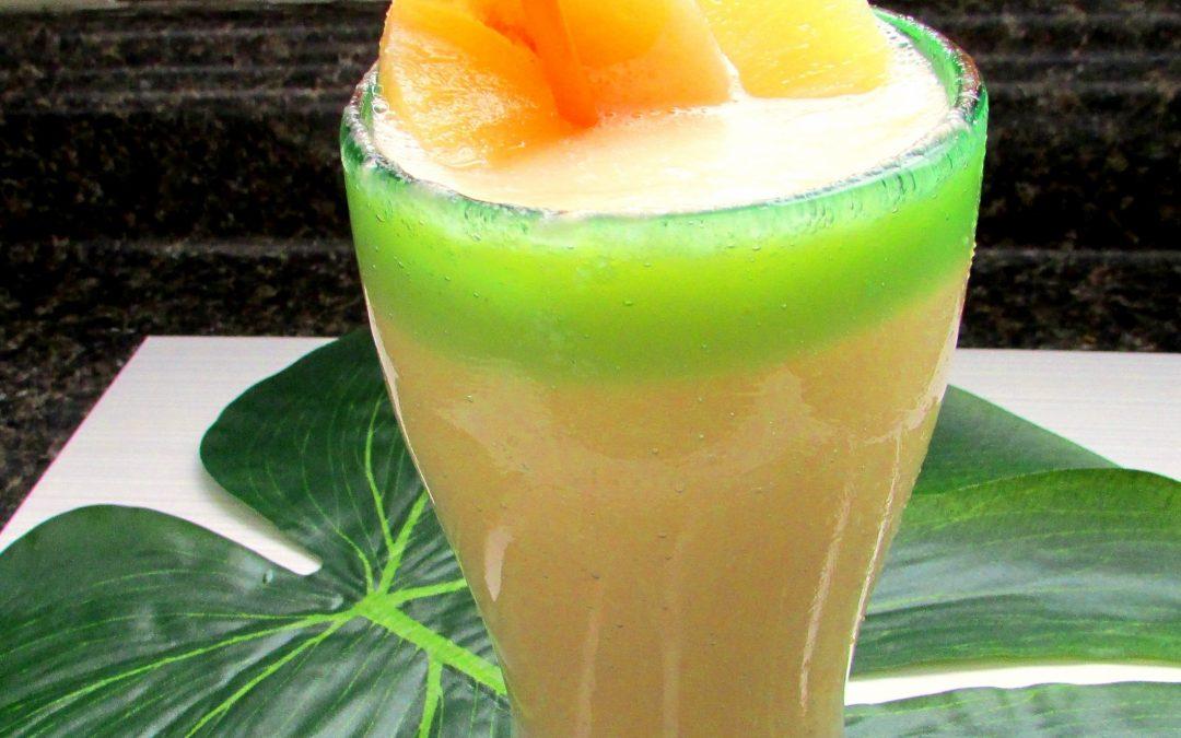 Peach-Pineapple Protein Shake