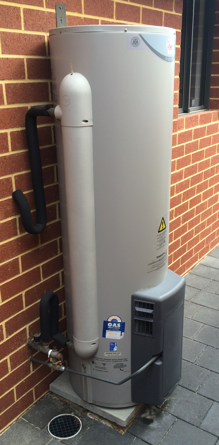 installation of log gas hot water system in Perth wa
