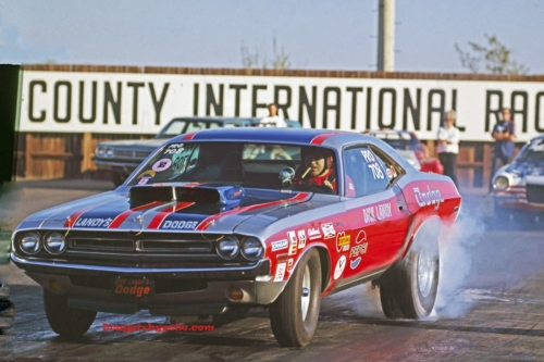 Funny Cars3 Landy 8x12