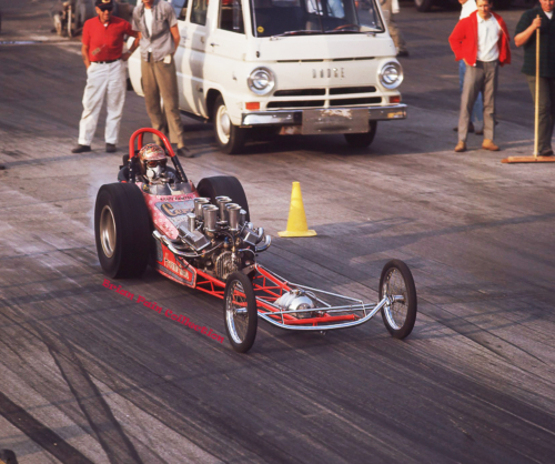 Krazy Paint Dragster