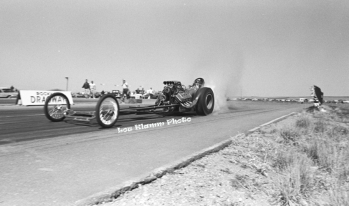 P 8 Dragster weeds RMD