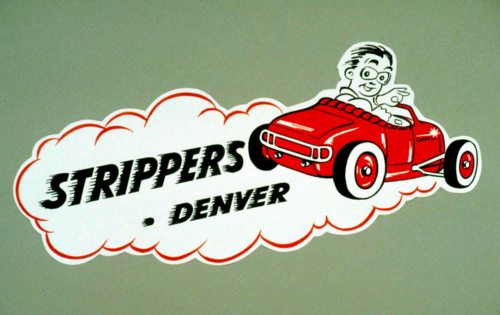 Strippers-Decal